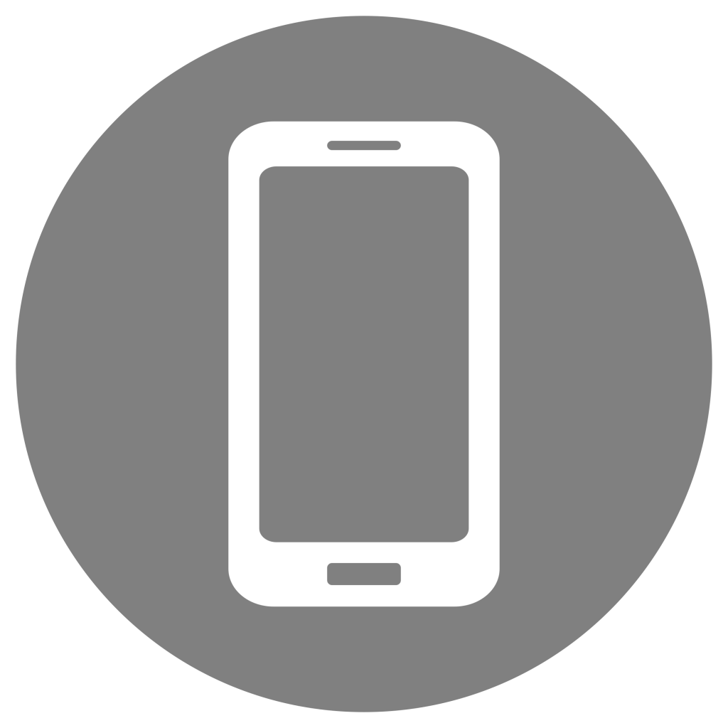 Mobile-Icon-White-on-Grey